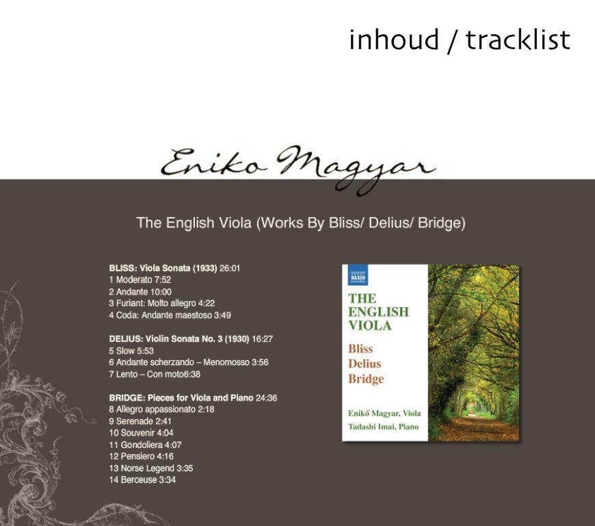 The English Viola Eniko Magyar